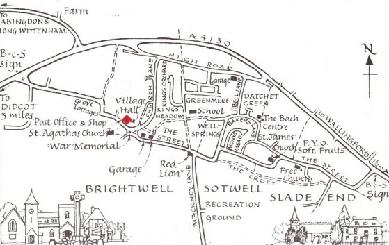 Brightwell map