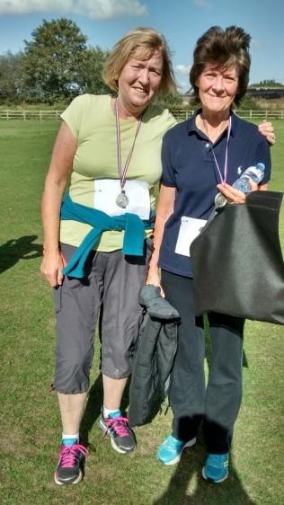 The runners, Helen & Jane