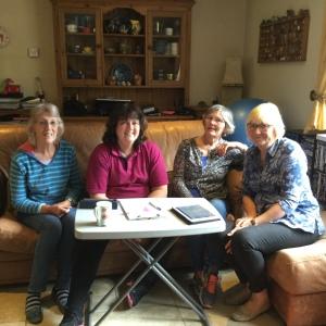 Gill, Liz, Monica and Helen