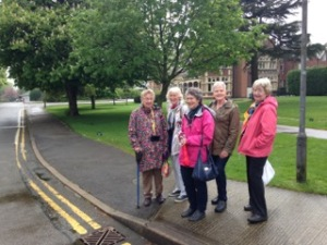 Jean, Gill, Annol, Anne and Margaret