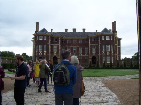 Arriving at Ham House