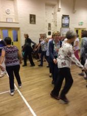 Line dancing 4