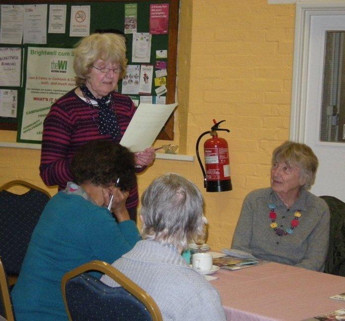 Margaret (reading), Eastlyn, Esther & Jean