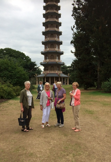 In front of the Great Pagoda