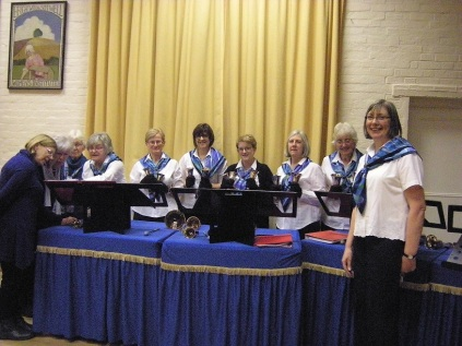 St Denys Hand Bell Ringers, WI 11.12.18 001